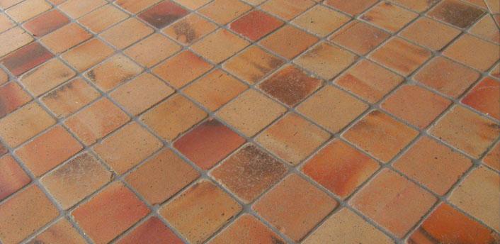 Terracotta tegels impregneren